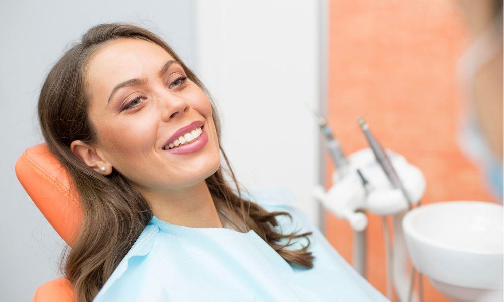 Dental Anxiety Bethesda | Happy Dental Patient.